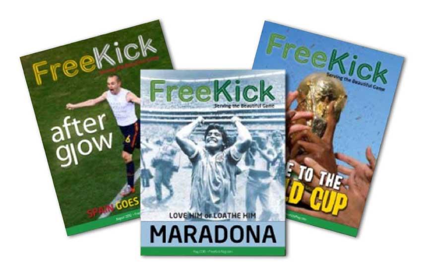 Free-Kick-Magazines